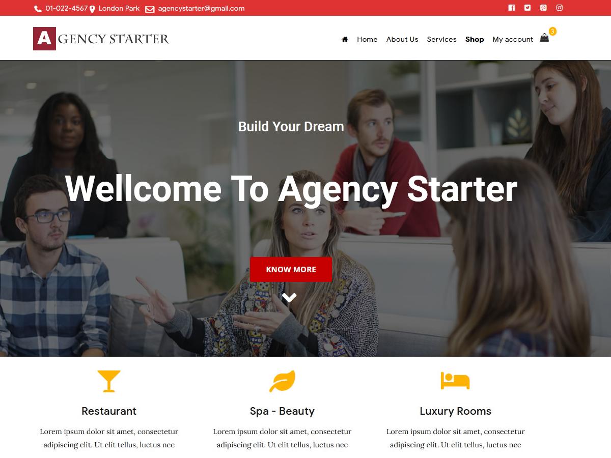 Agency starter