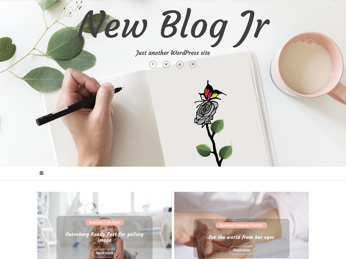 New Blog Jr